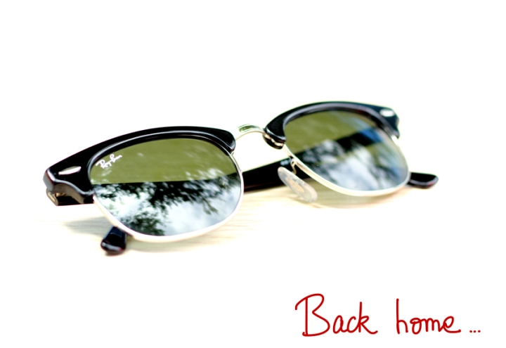 A Piece of Glam, Ray-Ban, Clubmaster