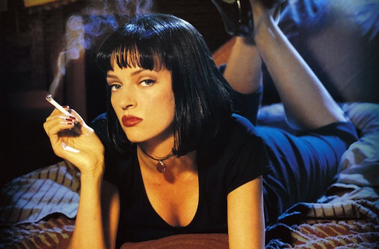 Mia Wallace, Pulp Fiction, Quentin Tarantino