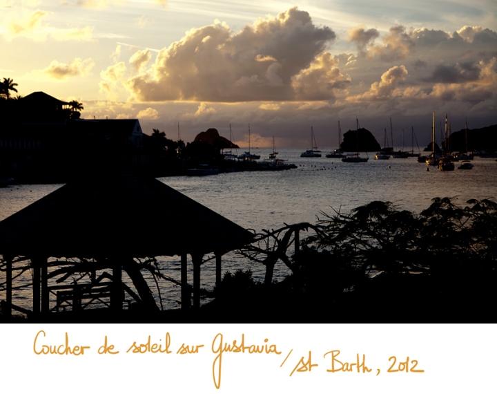 Sunset, Port de Gustavia, St Barth, A Piece of Glam