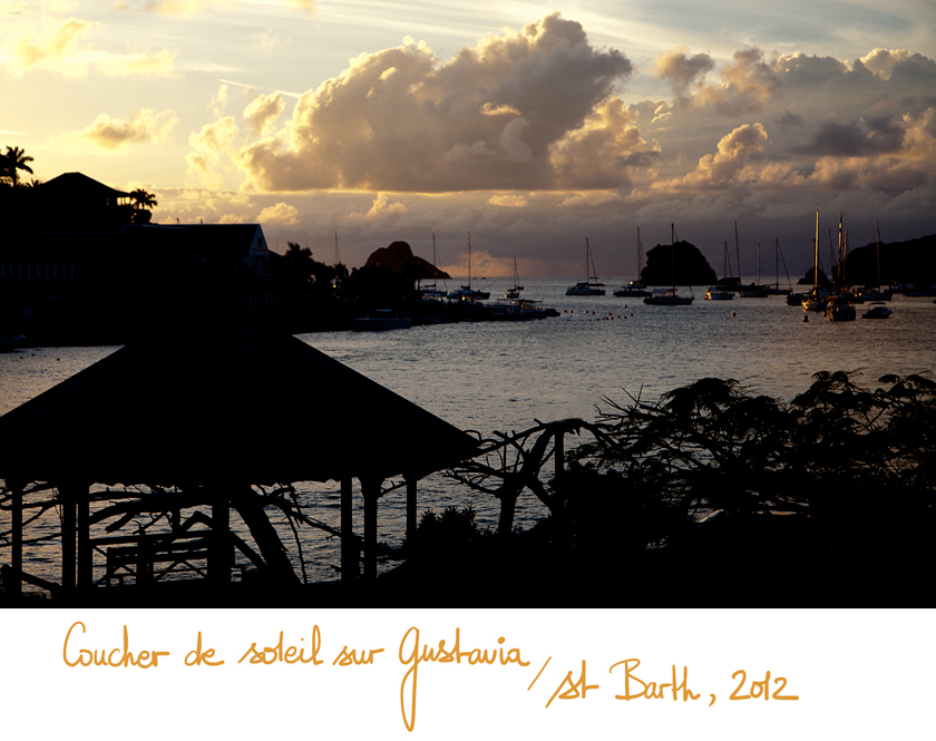Sunset, Port de Gustavia, St Barth, The French Dilettante