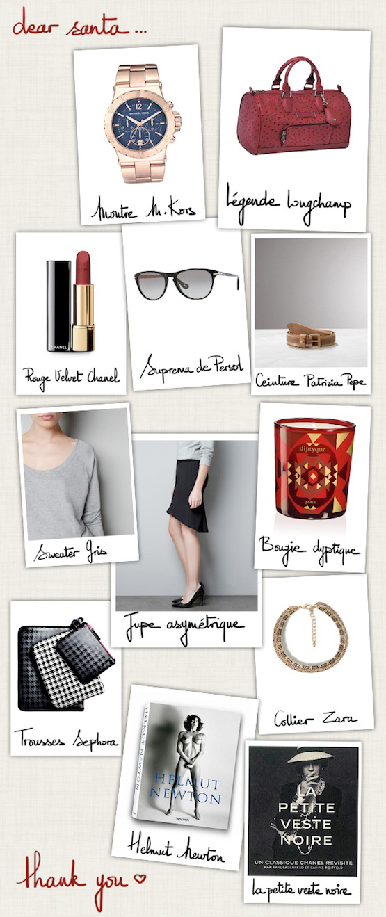 A Piece of Glam, Christmas wish list