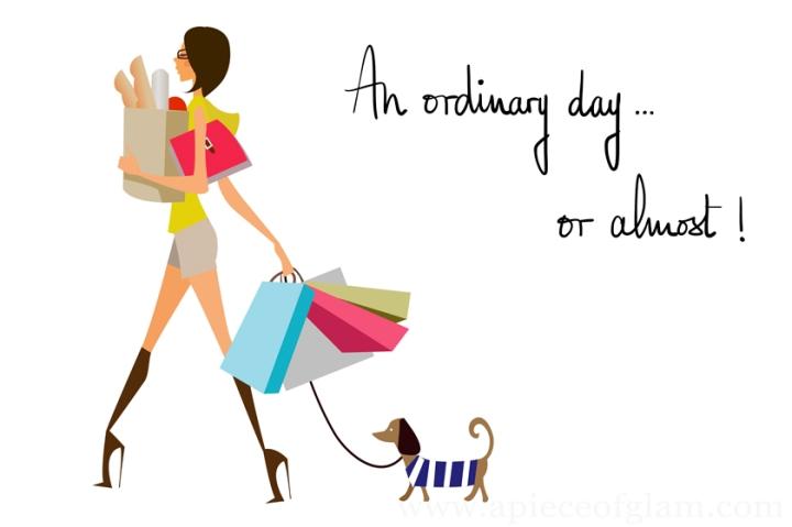 Une journée normale… ou presque!