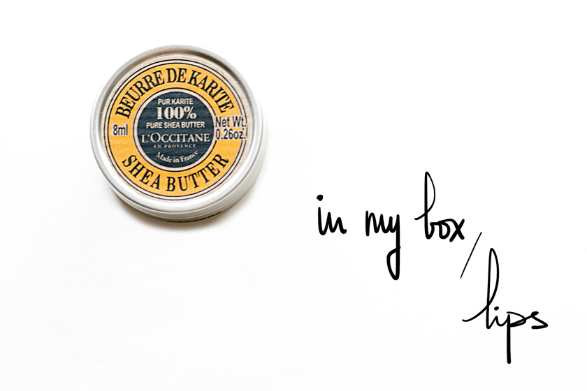 The French Dilettante, Lip Balm, Baume Lèvres, Karité, L'Occitane