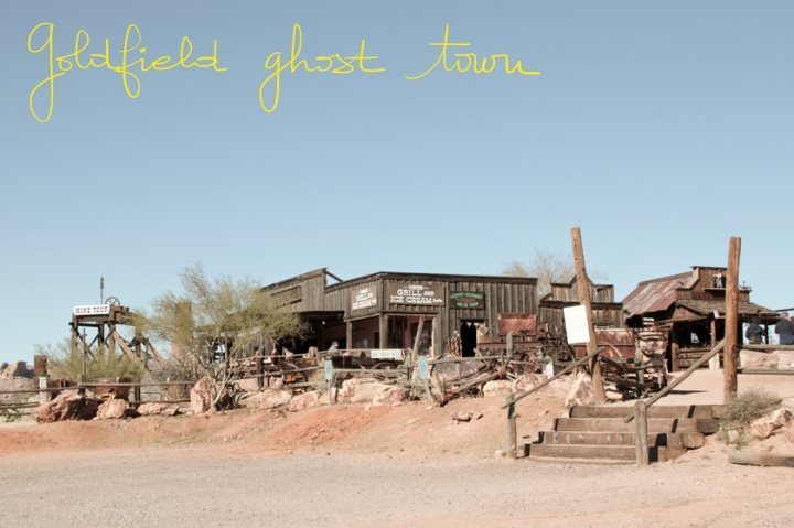 USA / Goldfield Ghost Town