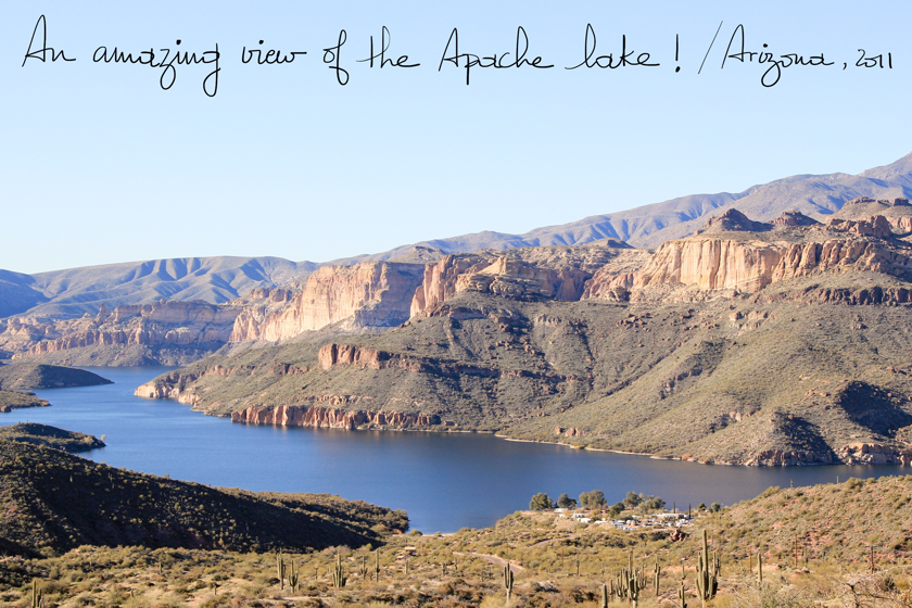 Apache Lake, A Piece of Glam