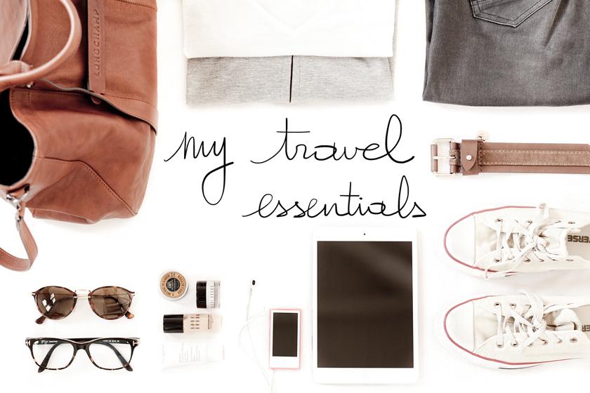 The French Dilettante, Travel Essentials, Essentiels de voyage, Lifestyle