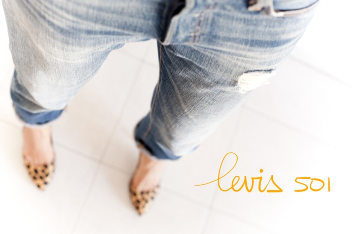Levis 501, A Piece of Glam