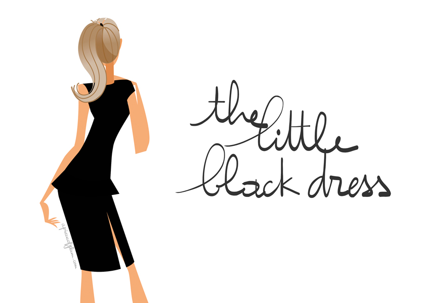 The French Dilettante, The Little Black Dress, La Petite Robe Noire