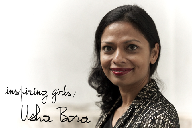 Usha Bora, A Piece of Glam