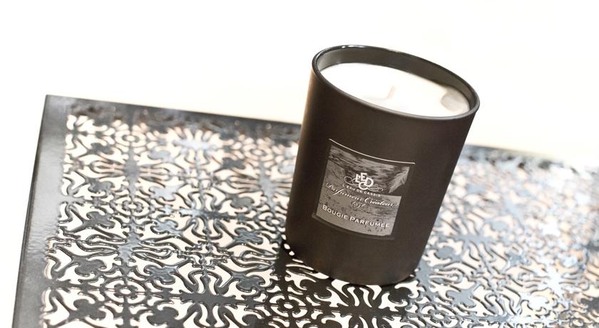 Bougie parfumée l'eau de cassis