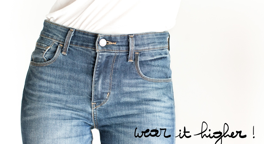 Levis, Jeans taille haute, The French Dilettante