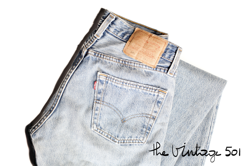 Levis 501, Vintage, The French Dilettante