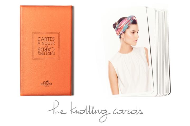 Hermès, Les Cartes à Nouer, The Knotting Cards, A Piece of Glam