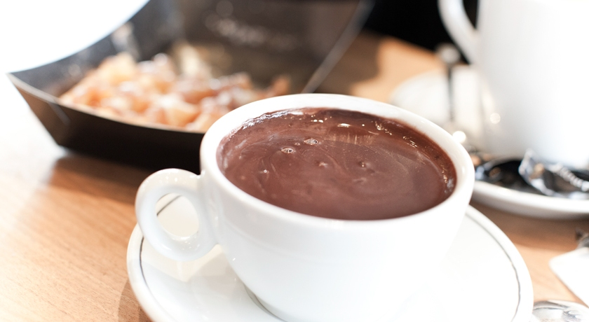 Chocolat chaud, The French Dilettante