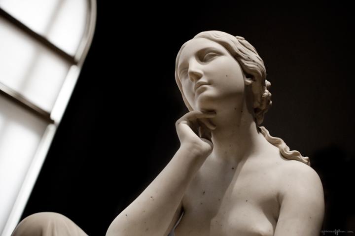 Statue, Palais Longchamp, Marseille