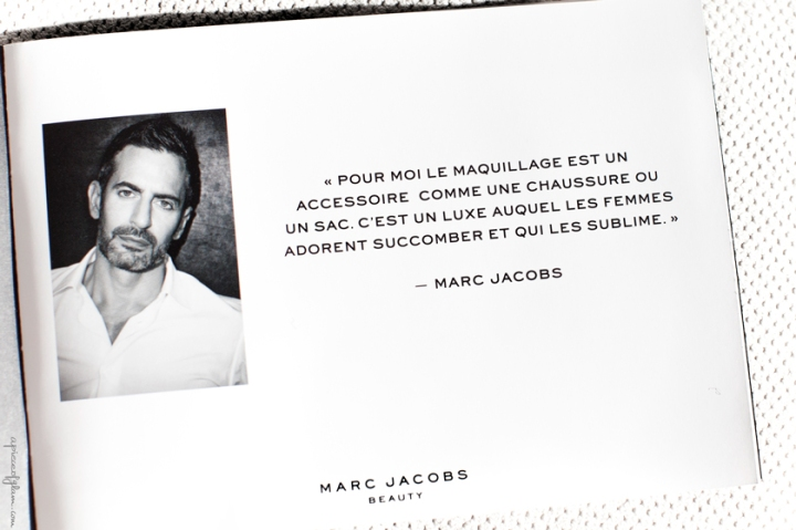 Marc Jacobs about Makeup