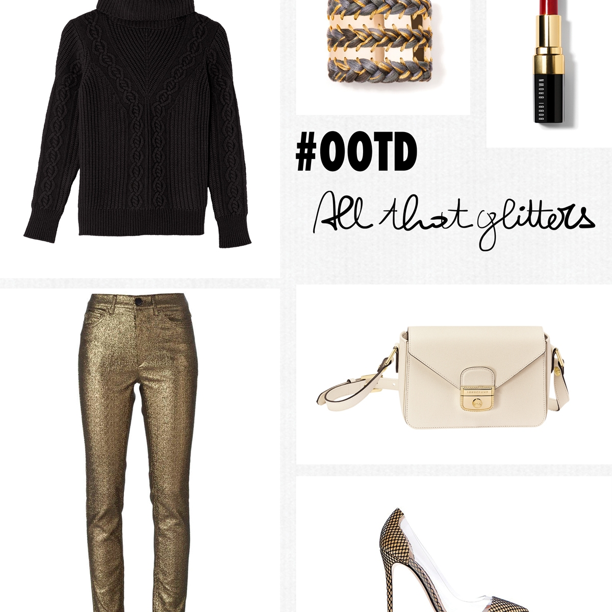 The French Dilettante, All that glitters, #OOTD